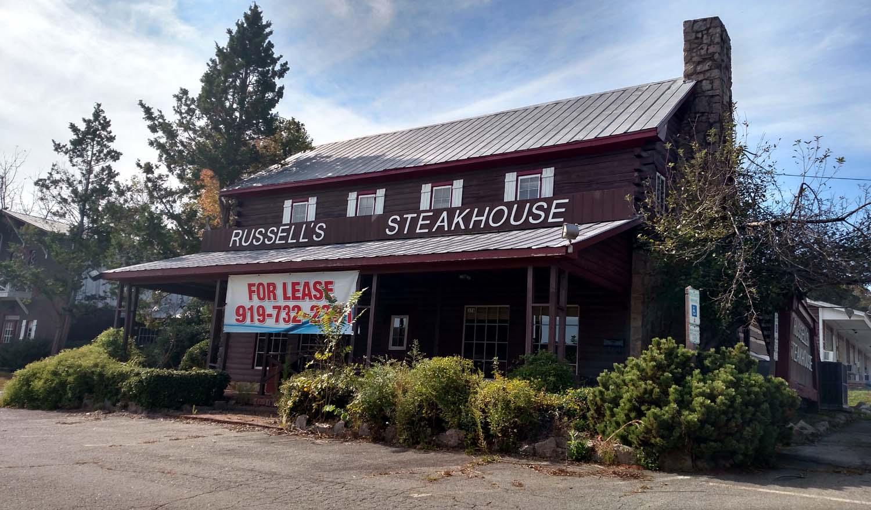 Russell S Steakhouse Occoneechee Steak House Open Orange