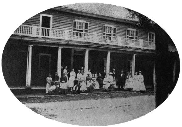 Colonial Inn Orange Hotel Corbinton Occoneechee