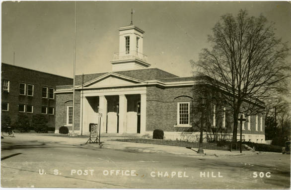 Chapel Hill Post Office 1940s