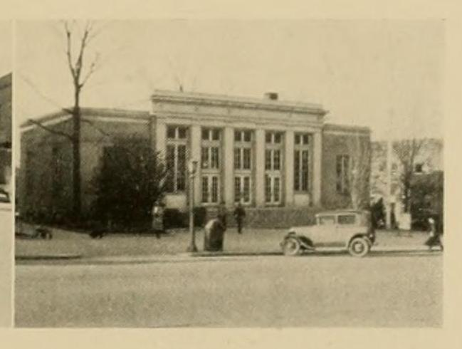 Chapel Hill Post Office 1931