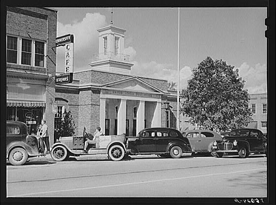 Chapel Hill Post Office 1939