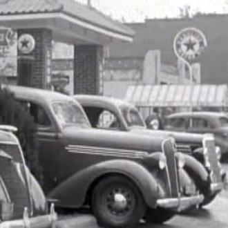 Esso station, 1937
