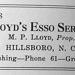 Lloyd's Esso station 1940 ad