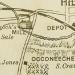 Dimmock's Mill, as shown on an excerpt of the 1891 Tate map